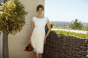 EMMA SHIFT DRESS IVORY + BELT IVORY