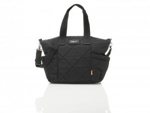 EVIE QUILTED BLACK logo