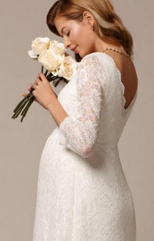 CHLOE LACE DRESS IVORY + BELT IVORY