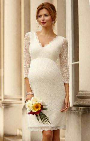 CHLOE LACE DRESS IVORY + BELT logo