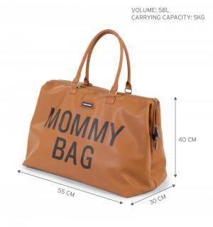 MOMMY BAG LEATERHLOOK BRUIN BRUIN