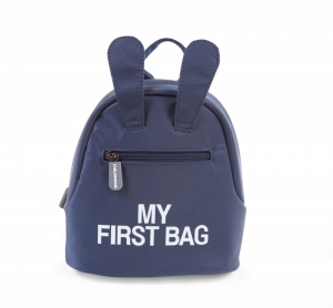 KIDS MY FIRST BAG BLAUW logo