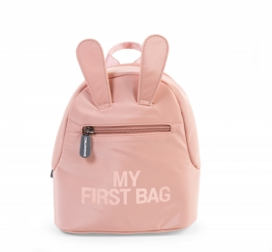 KIDS MY FIRST BAG ROZE-KOPER logo