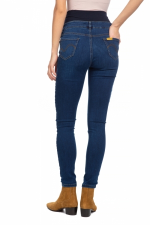 TIGHT JEGGING DENIM W026 DEEP BLUE