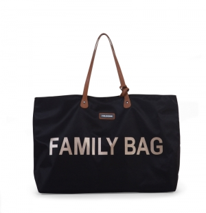 FAMILY BAG ZWART logo