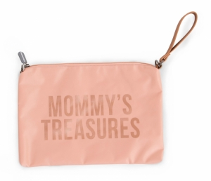MOMMY CLUTCH ROZE-KOPER logo