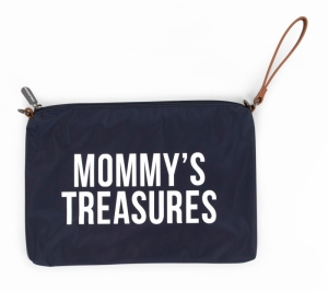 MOMMY CLUTCH NAVY-WIT logo