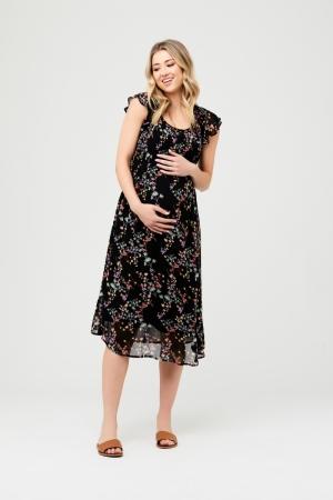 MILLIE BUTTON BACK DRESS logo