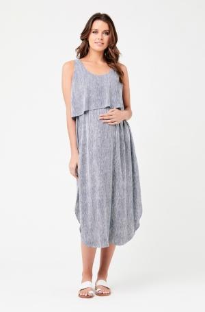 STELLA STRIPE NURSING DRESS logo