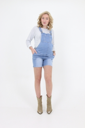 DUNGAREE SHORT logo