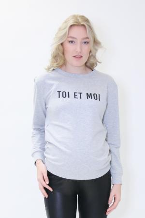 SWEATER NURSING TOI ET MOI logo